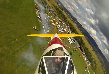 Boeing Stearman podczas Pikniku