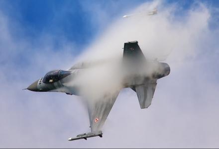 F-16 Tiger Demo Team Na Nowotarskim niebie